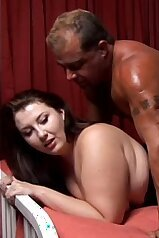 Prone boning session with an eager MILF slut