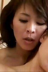 Japanese mommy explores her daughter\'s wet slit