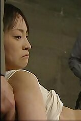 Helpless Asian beauty is gonna get abused BIG TIME