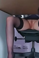 MILF in stockings is ready for something freaky