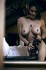 Stacked MILF Krissy Lynn fucks a creep next door