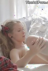 Angelic teen is going to get fucked violently