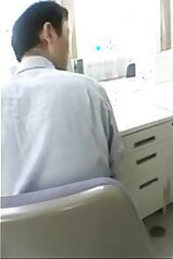 Phat ass Japanese babe seducing at work