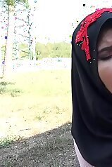 Czech Muslim chick  getting humbled on camera