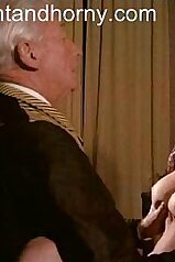 Porno scene with a classy big-breasted babe