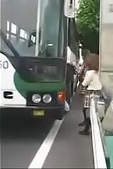 Asian schoolgirls all get fucked on this fucking bus