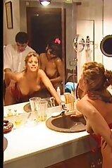 Retro porn video featuring a sexy Swedish lady