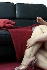 Germany\'s hottest BBW wants show off on cam