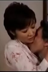 Japanese mommy in a life-changing sex scene