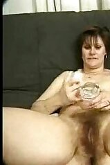 Old bitch with a hairy cunt wants to get fucked