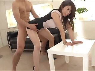 clothed office secretary pantyhose japan