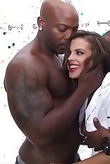 Keisha Grey gang-banged by black men, so hot