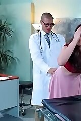 Casey Calvert screwed by a lusty doctor from behind