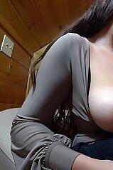 Big-boobed lady is enjoying intensive IR sex