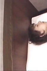 Sensual Japanese sex in the bed with a hot teen